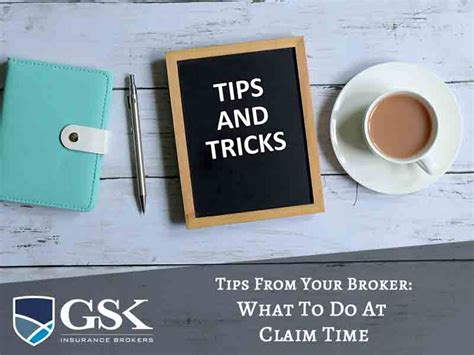 What do insurance agents do? Tips on What You Need to Do at Claim Time - GSK Insurance Brokers