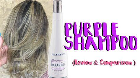 Pravana Purple Shampoo Review & Comparison