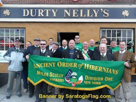 custom parade banner ancient order  hibernians