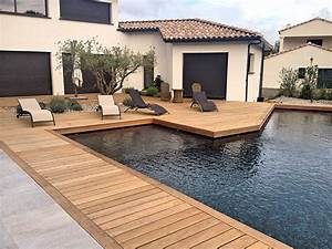 Bois Terrasse Piscine : terrasse piscine bois pas cher ~ Melissatoandfro.com Idées de Décoration