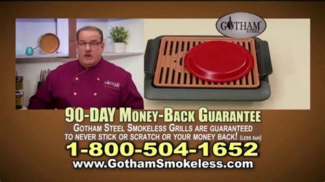 gotham steel smokeless grill tv commercial fire drill ispottv