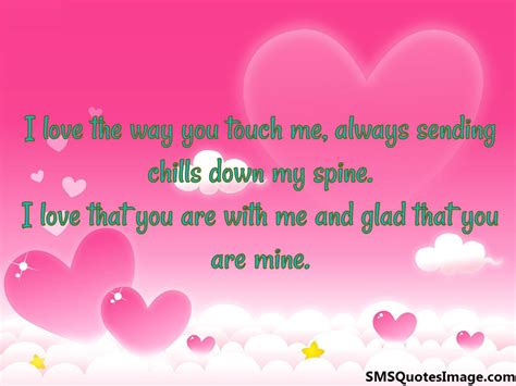 Love Way You Touch Me Quotes