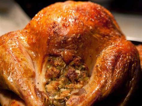 recettes de thanksgiving et dinde farcie