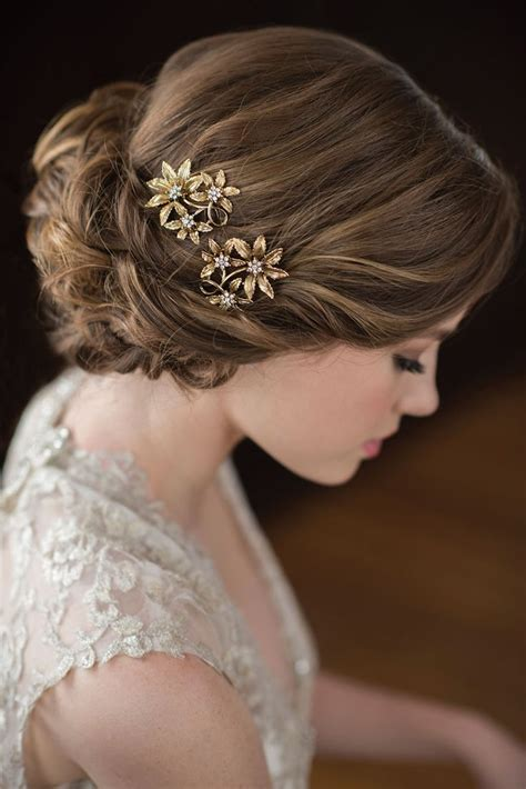 bridal hair style picture 1146 best wedding hair accessories images on 8418