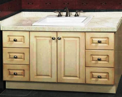 Unfinished Bathroom Cabinets Lowes