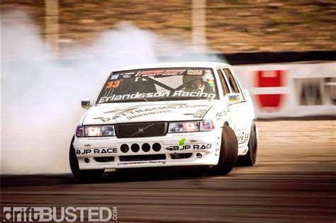 drifting nice volvos racing volvo