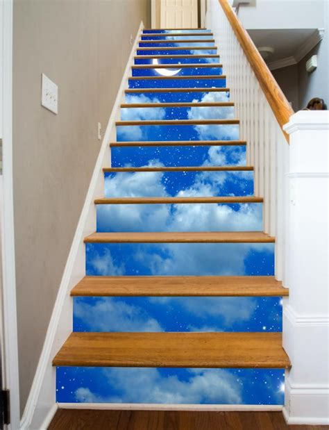 Painted Stairways   Starry Night ? RiserArt