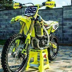 Mike Browns Suzuki RM 250 cc Motocross bike MX two