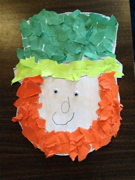st s day crafts torn paper leprechaun 167   a25c8effa7f38639fb9bcc6422236632 march crafts preschool projects