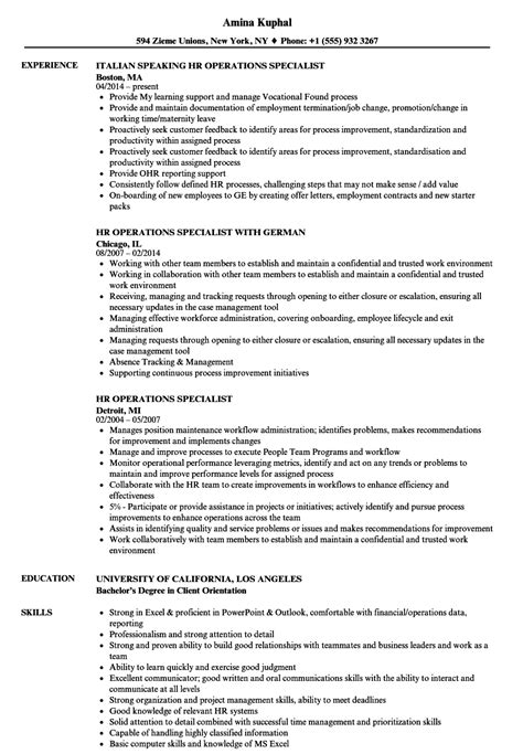 Hr Operations Specialist Resume Samples  Velvet Jobs. Resume For Production Worker. Training Assistant Resume. Correct Format Of Resume. Most Popular Resume Format. Resume Objective For Bank Job. Format For Professional Resume. Resume Examples For College Students Engineering. How To Attach Photo To Resume