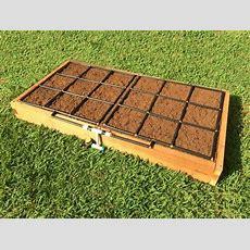 3x6 Raised Garden Kit W Garden Grid™ Watering Systems