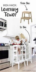 Ikea Hacks Flur : diy life hacks crafts ikea hack diy learning tower using the inexpensive ikea bekv m ~ Orissabook.com Haus und Dekorationen