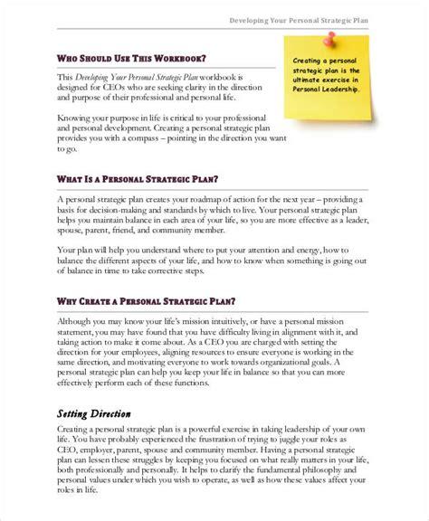 strategic plan samples word   premium