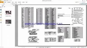 Caterpillar 345b Excavator Electrical Schematics Manuals