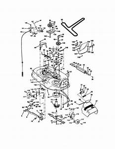 Mower Deck Diagram  U0026 Parts List For Model 917271140