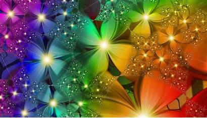 Flowers Rainbow Desktop Wallpapers Flower Background Completely