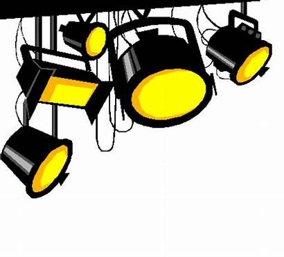 Clipart Lights Action Camera Hollywood Spotlights Dance