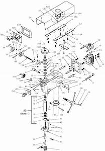 Wilton A5816 Parts List And Diagram