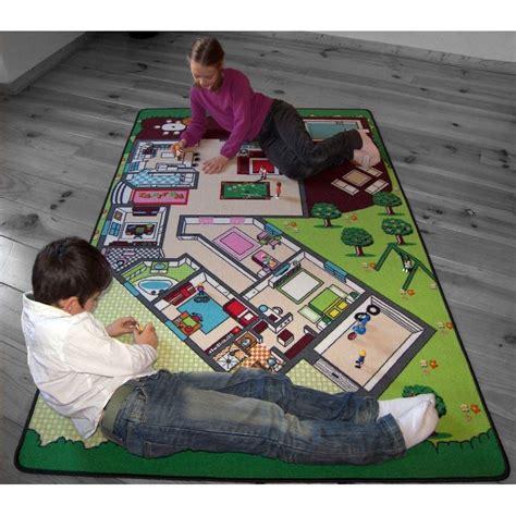 jeu de chambre tapis de jeu la maison pour chambre enfant en polyester