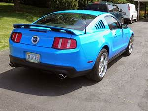 2011 Grabber Blue Ford Mustang GT/5.0 ~ For Sale American Muscle Cars