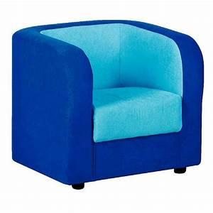 Fauteuil tissu bleu fonce et turquoise nowa szkola for Fauteuil tissu bleu