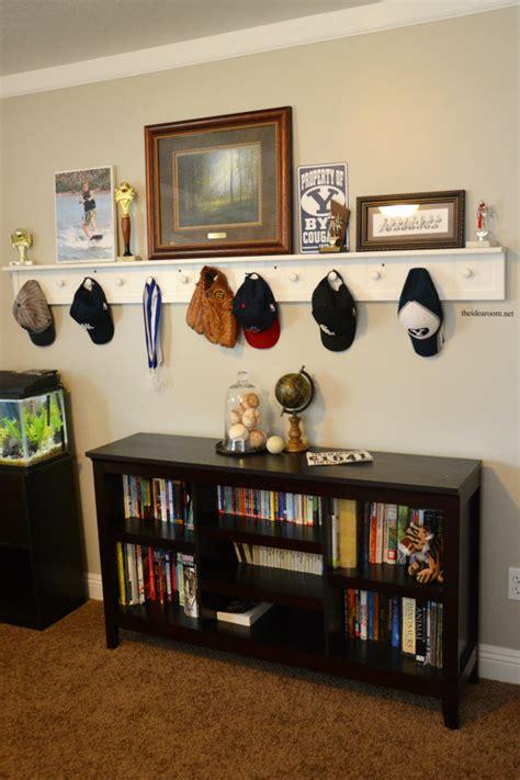 diy peg board shelf  idea room