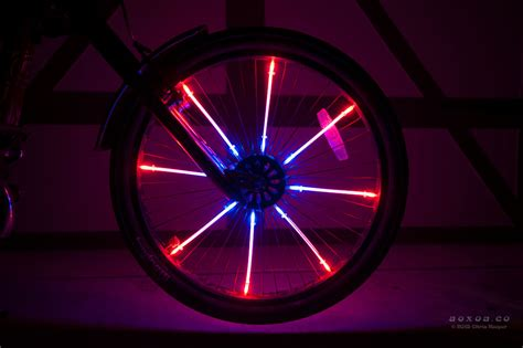 wheel led lights led wheel lights for bicycle led bike radlicht aoxoa