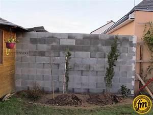 Fondation Mur Parpaing : habiller un mur en parpaing free epatant comment habiller ~ Premium-room.com Idées de Décoration