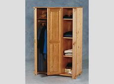 Sol Wardrobe In Antique Pine Finish With 3 Doors 1648