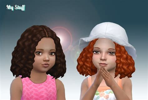 joanne hair  toddlers   stuff sims  updates