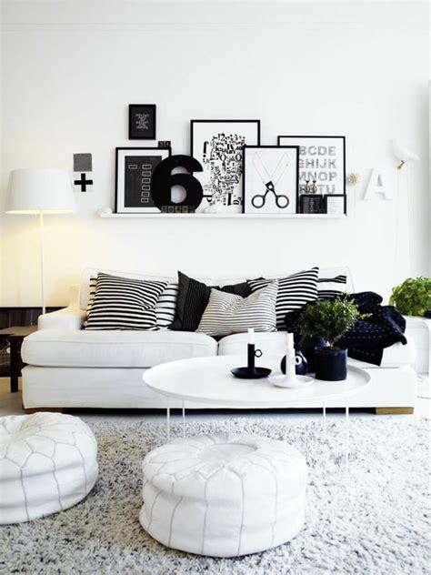 Schwarz Weiß Wohnzimmer Ideen by 1001 Muster Schwarz Wei 223 Lassen Sie Eine Wandgestaltung