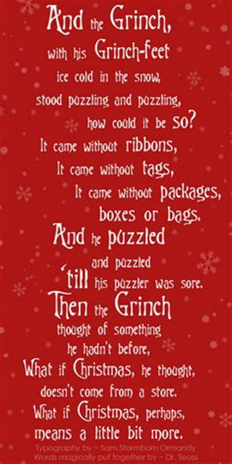 grinch christmas card quotes