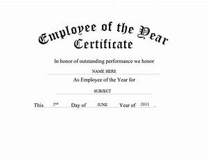 employee of the year certificate free templates clip art With employee of the year certificate template free
