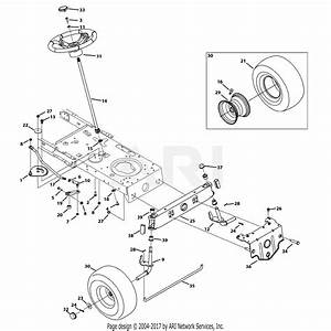 Troy Bilt 13bx78ks011 Bronco  2013  Parts Diagram For