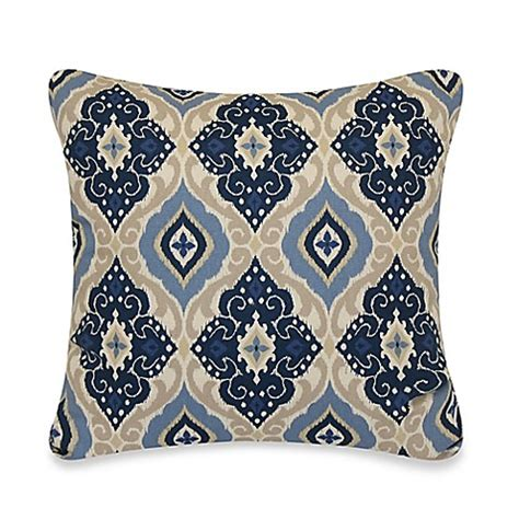 bed bath and beyond sofa pillows jabari throw pillow in blue bed bath beyond