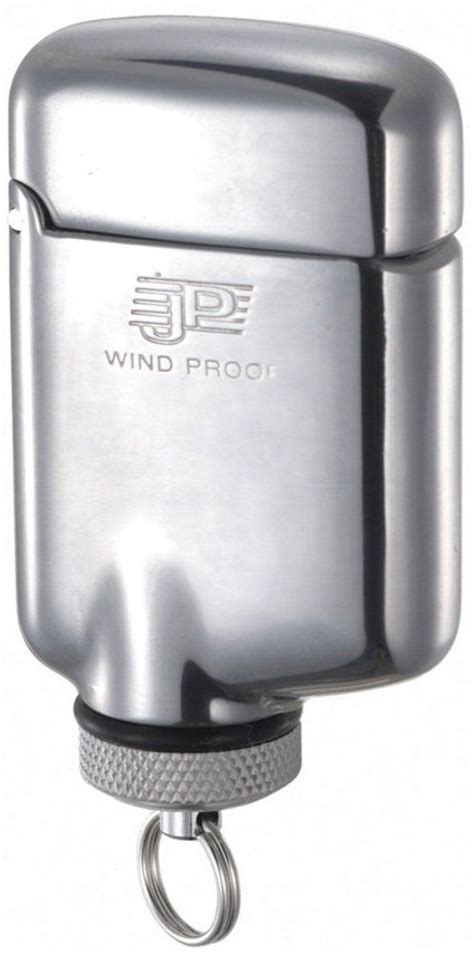 windmill jpw  windproof lighter shiny aluminum