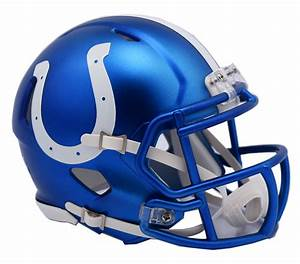 Indianapolis Colts - Blaze Alternate Speed Riddell Replica ...
