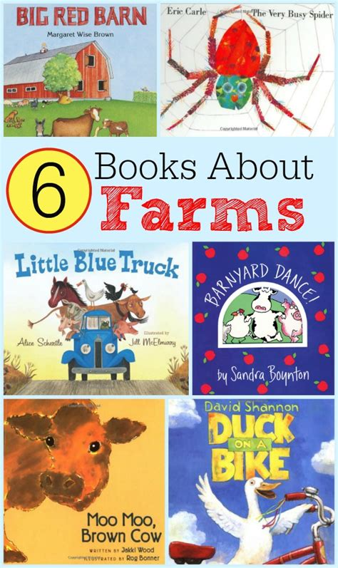 free farm prek k pack updated and expanded 537 | 6 Books about Farms Great Read Alouds