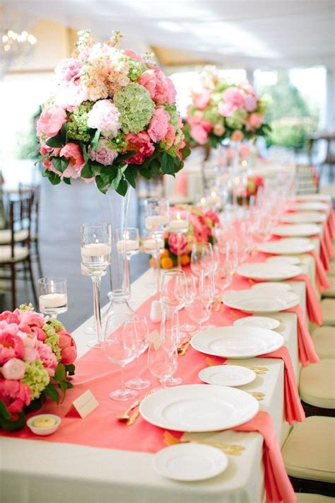 Coral Wedding Decorations by 65 Best Coral Wedding Event Decor Images On