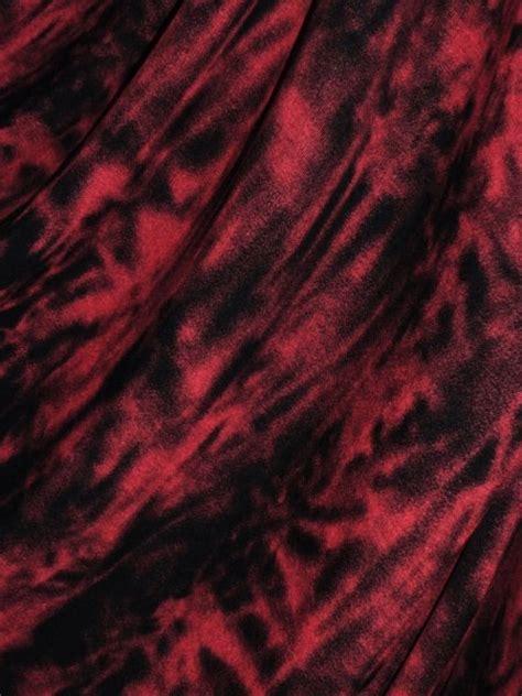 sophie maroon red black tie dye viscose cotton stretch