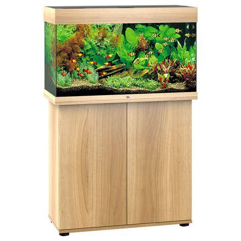 juwel aquarium kombination rio  led sbx dunkles holz