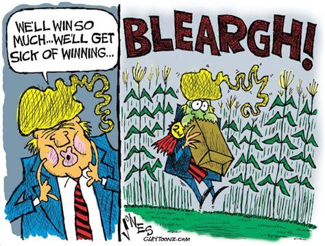 trump cartoon cartoons sick winning truthful underground