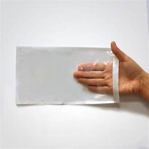 document pouch 5x9 clear superior bag With document pouch for shipping