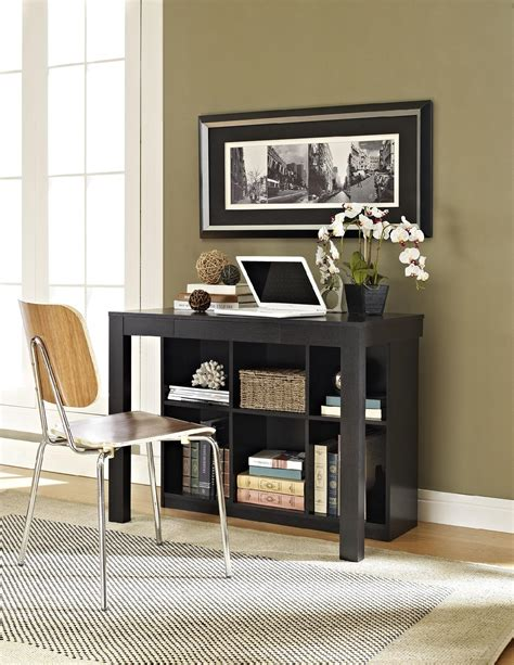 Mainstays Parsons Desk With Drawer Sonoma Oak by Dorel Corrine Parsons Style Desk With Drawer And Cubbies