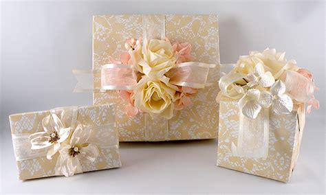 christmas wired ribbon vintage wedding gift wrap