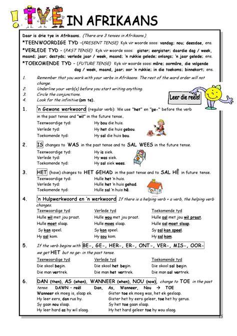 worksheets for grade 3 afrikaans worksheet exle
