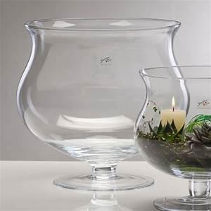 Glas Für Windlicht : glasvase xl mit fu vase glas kelch kerzenglas windlicht 34 cm ebay ~ Markanthonyermac.com Haus und Dekorationen
