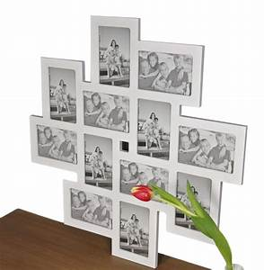 Bilderrahmen Holz Weiß : bilderrahmen collage wei holz rahmen galerie real ~ Frokenaadalensverden.com Haus und Dekorationen