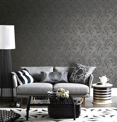 Wallpaper Dinding Klasik Elegan 65 desain wallpaper dinding ruang tamu minimalis terbaru