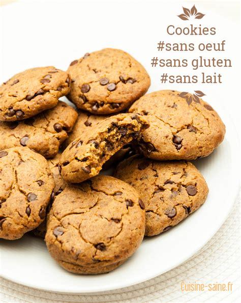 recette cuisine sans gluten biscuit sans gluten sans lait recette